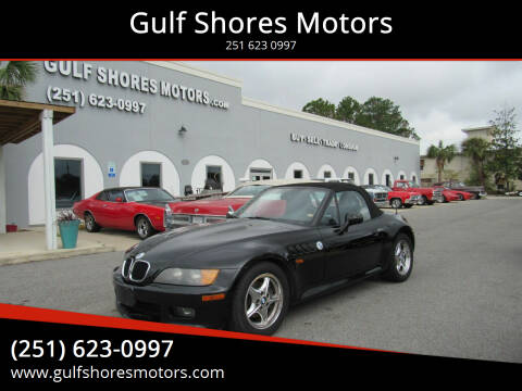 1999 BMW Z3 for sale at Gulf Shores Motors in Gulf Shores AL