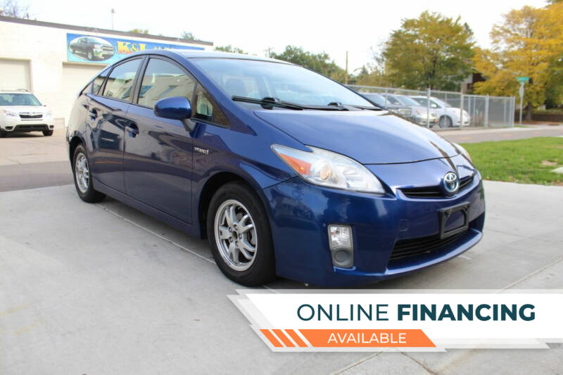 2011 Toyota Prius for sale at K & L Auto Sales in Saint Paul MN