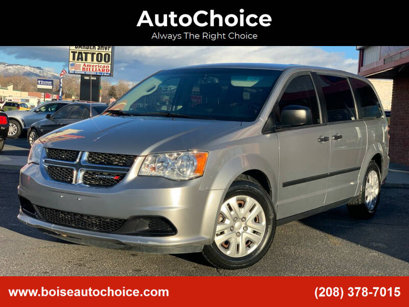 2015 Dodge Grand Caravan for sale at AutoChoice in Boise ID