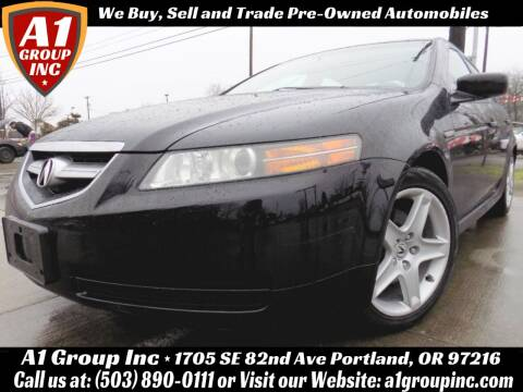 2005 Acura TL for sale at A1 Group Inc in Portland OR
