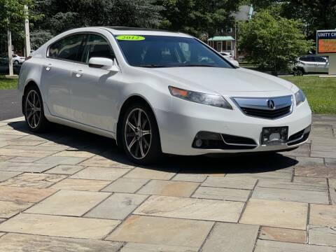 2012 Acura TL for sale at Glacier Auto Sales in Wilmington DE
