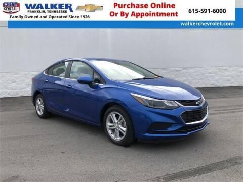 2018 Chevrolet Cruze for sale at WALKER CHEVROLET in Franklin TN