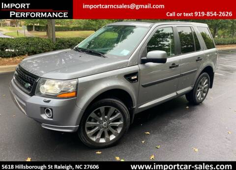 2013 Land Rover LR2 for sale at Import Performance Sales in Raleigh NC