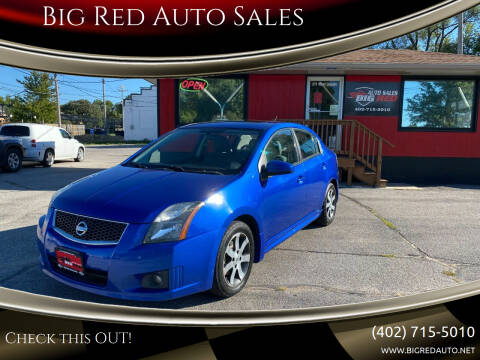 2012 Nissan Sentra for sale at Big Red Auto Sales in Papillion NE