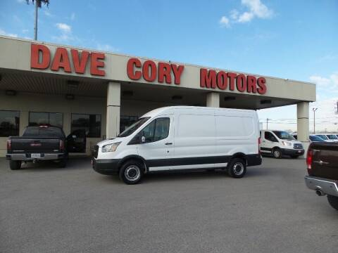 2017 Ford Transit Cargo for sale at DAVE CORY MOTORS in Houston TX