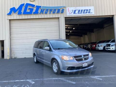 2013 Dodge Grand Caravan for sale at MGI Motors in Sacramento CA