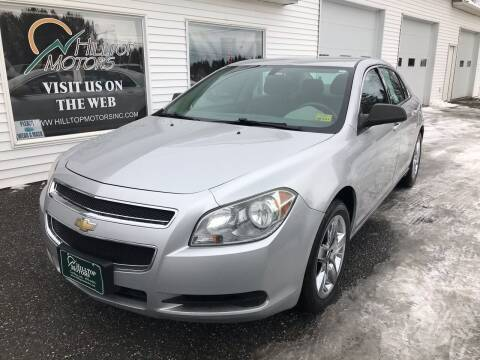 2010 Chevrolet Malibu for sale at HILLTOP MOTORS INC in Caribou ME
