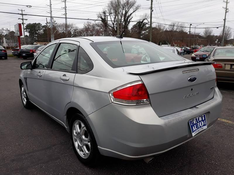 2008 Ford Focus SES 4dr Sedan - Virginia Beach VA