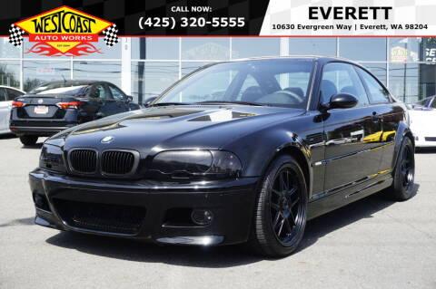 2002 BMW M3 for sale at West Coast Auto Works in Edmonds WA