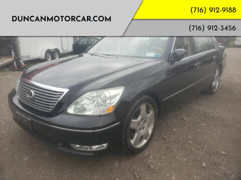 2005 Lexus LS 430 for sale at DuncanMotorcar.com in Buffalo NY