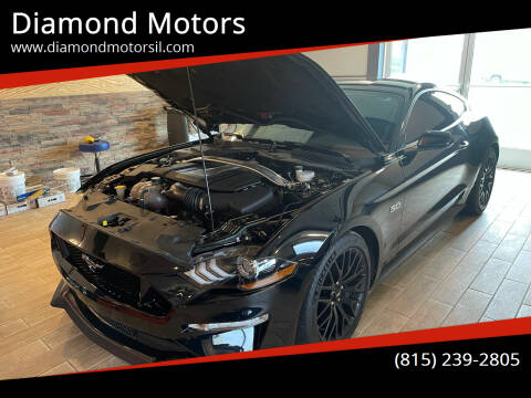 2018 Ford Mustang for sale at Diamond Motors in Pecatonica IL