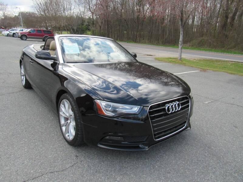 2013 Audi A5 for sale at Pristine Auto Sales in Monroe NC