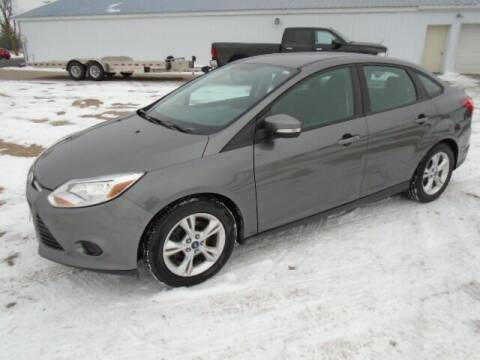 2014 Ford Focus for sale at SWENSON MOTORS in Gaylord MN