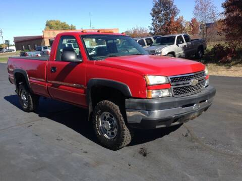 2006 Chevrolet Silverado 2500HD for sale at Bruns & Sons Auto in Plover WI