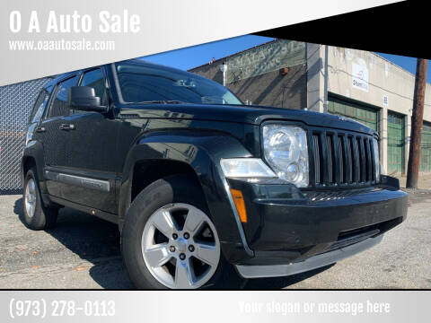 2012 Jeep Liberty for sale at O A Auto Sale in Paterson NJ