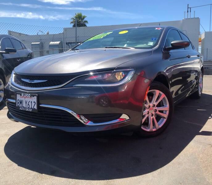 2015 Chrysler 200 for sale at LUGO AUTO GROUP in Sacramento CA