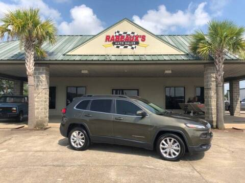 2016 Jeep Cherokee for sale at Rabeaux's Auto Sales in Lafayette LA
