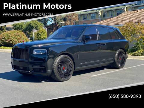 2021 Rolls-Royce Cullinan for sale at Platinum Motors in San Bruno CA