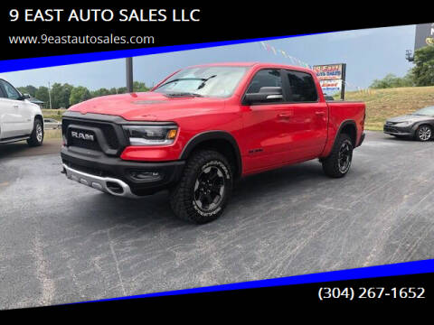2020 RAM Ram Pickup 1500 for sale at 9 EAST AUTO SALES LLC in Martinsburg WV