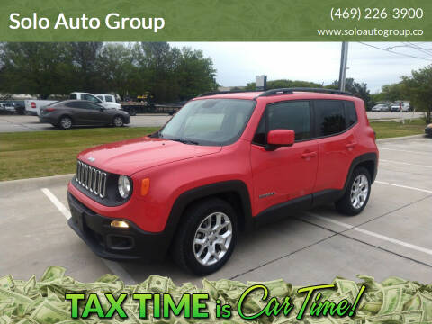 2017 Jeep Renegade for sale at Solo Auto Group in Mckinney TX