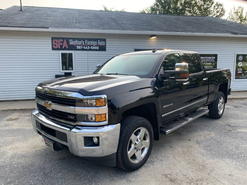 2015 Chevrolet Silverado 2500HD for sale at Skelton's Foreign Auto LLC in West Bath ME