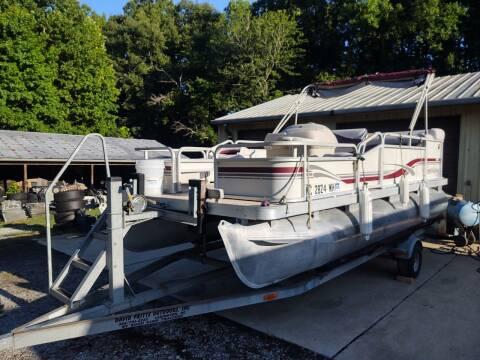 1999 99 PONTOON GODFREY 18f 2004 Boat Trailer For PONTOON for sale at Lanier Motor Company in Lexington NC