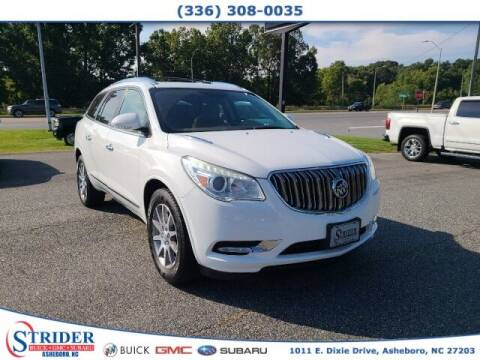 2016 Buick Enclave for sale at STRIDER BUICK GMC SUBARU in Asheboro NC