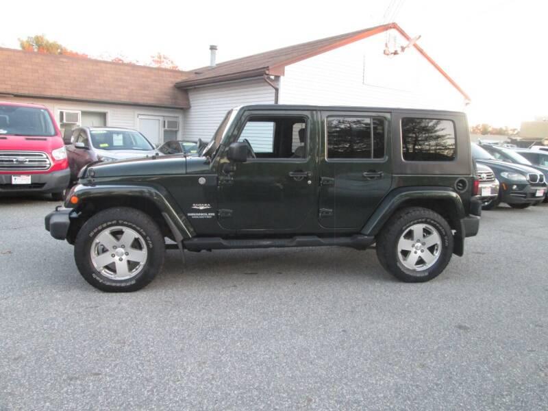 2010 Jeep Wrangler Unlimited 4x4 Sahara 4dr SUV - Lowell MA