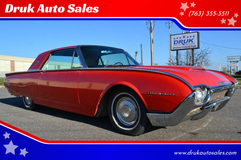 1961 Ford Thunderbird for sale at Druk Auto Sales in Ramsey MN