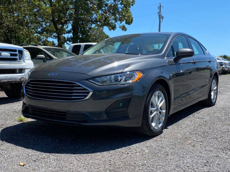 2019 Ford Fusion for sale at TINKER MOTOR COMPANY in Indianola OK