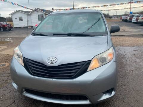 2011 Toyota Sienna for sale at BEST AUTO SALES in Russellville AR