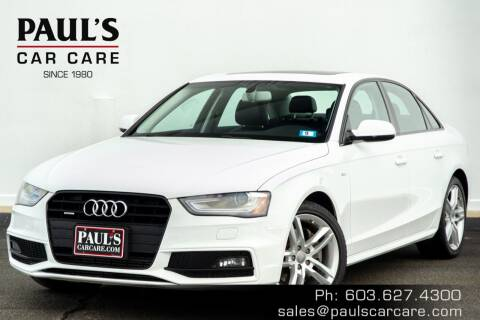 2016 Audi A4 for sale at Paul's Car Care in Manchester NH