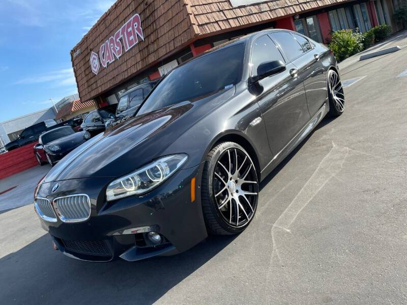 2015 BMW 5 Series for sale at CARSTER in Huntington Beach CA