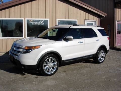 2012 Ford Explorer for sale at Greg Vallett Auto Sales in Steeleville IL