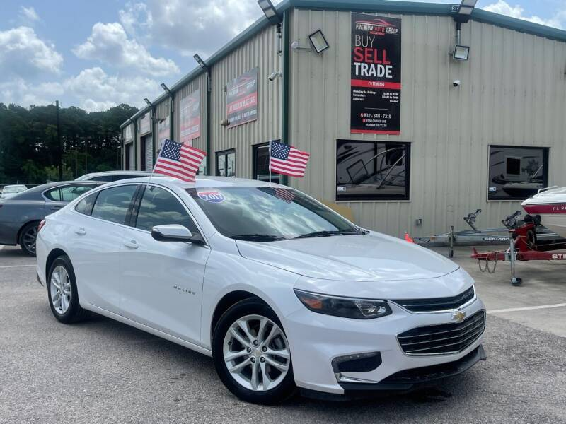 2017 Chevrolet Malibu for sale at Premium Auto Group in Humble TX
