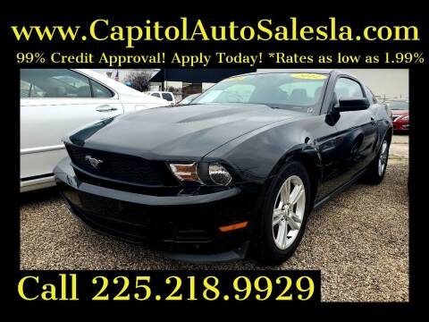 2012 Ford Mustang for sale at CAPITOL AUTO SALES LLC in Baton Rouge LA