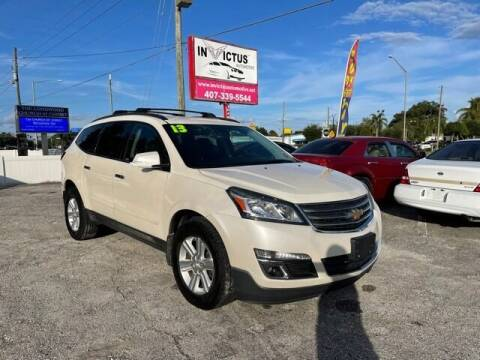 2013 Chevrolet Traverse for sale at Invictus Automotive in Longwood FL