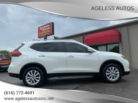 2017 Nissan Rogue for sale at Ageless Autos in Zeeland MI