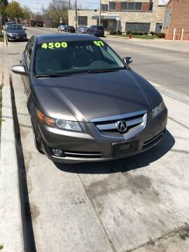 2007 Acura TL for sale at Square Business Automotive in Milwaukee WI