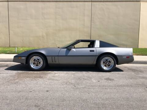 1984 Chevrolet Corvette for sale at HIGH-LINE MOTOR SPORTS in Brea CA