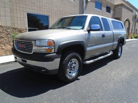 2002 GMC Sierra 2500HD for sale at COPPER STATE MOTORSPORTS in Phoenix AZ