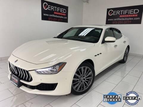 2018 Maserati Ghibli for sale at CERTIFIED AUTOPLEX INC in Dallas TX