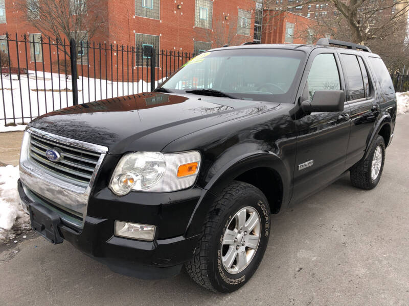 2008 Ford Explorer for sale at Commercial Street Auto Sales in Lynn MA