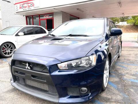 2014 Mitsubishi Lancer Evolution for sale at MotorSport Auto Sales in San Diego CA