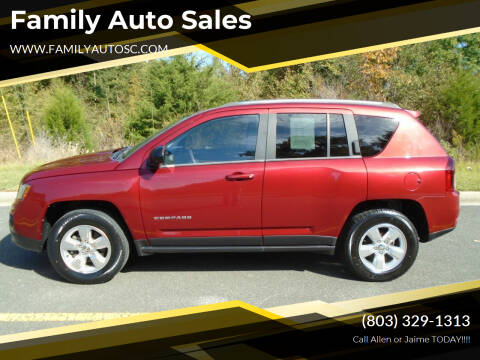 2014 Jeep Compass for sale at Family Auto Sales in Rock Hill SC