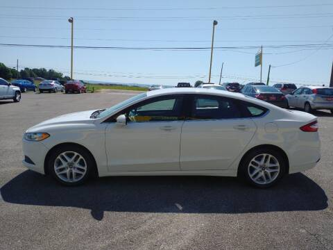 2016 Ford Fusion for sale at Space & Rocket Auto Sales in Meridianville AL