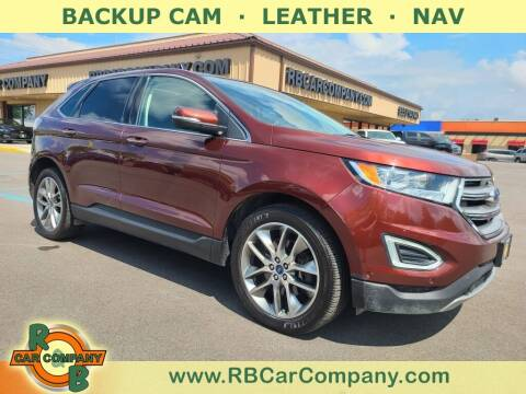 2015 Ford Edge for sale at R & B Car Company in South Bend IN