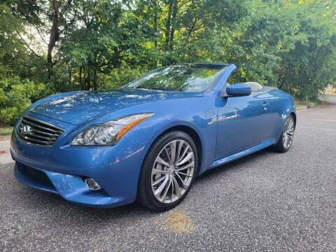 2013 Infiniti G37 Convertible for sale at Coastal Auto Sports in Chesapeake VA