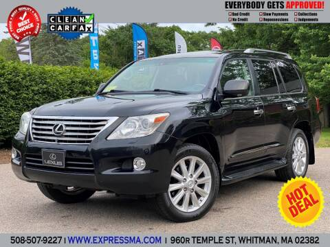 2009 Lexus LX 570 for sale at Auto Sales Express in Whitman MA