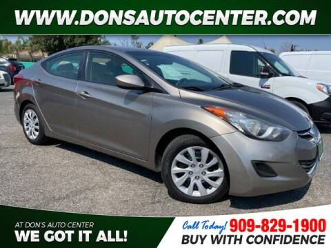 2013 Hyundai Elantra for sale at Dons Auto Center in Fontana CA